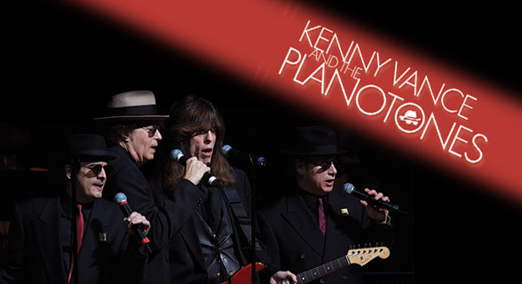 RESCHEDULED to JANUARY 8. Kenny Vance and The Planotones: Doo Wop Downtown