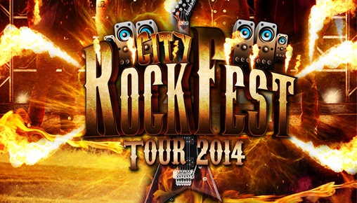 City Rock Fest, Tour 2014