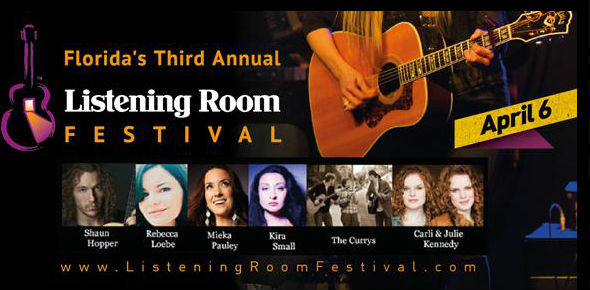 Fran Snyder's 3rd Annual Listening Room Festival Showcase