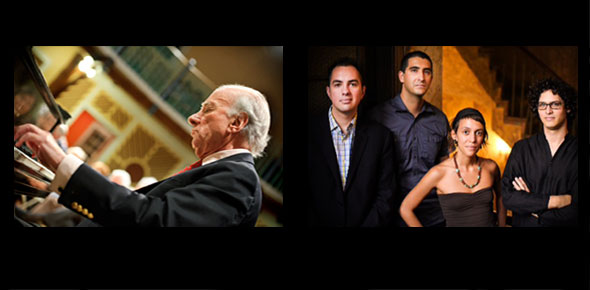 Generations of Jazz: Dick Hyman and La Lucha featuring Jun Bustamante, Hough Hall