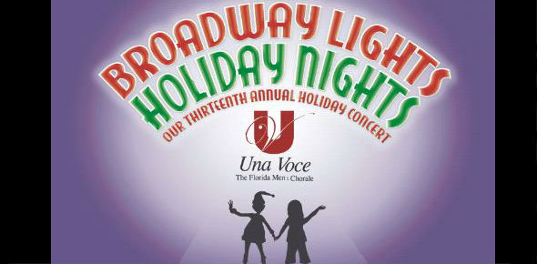 Una Voce: Broadway Lights, Holiday Nights