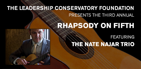 Rhapsody on Fifth featuring the Nate Najar Trio