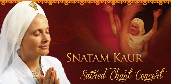Sacred Chant Concert with Snatam Kaur