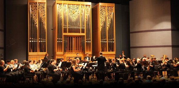 The Wind Symphony and Community Concert Band of St. Petersburg College