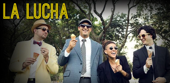La Lucha with Jun Bustamante: La Lucha plays 1985!