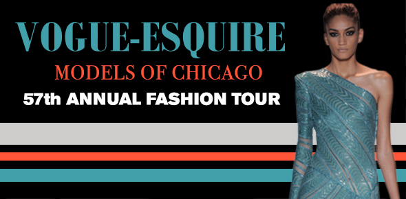 Vogue-Esquire Models of Chicago's 57th Annual Fashion Tour
