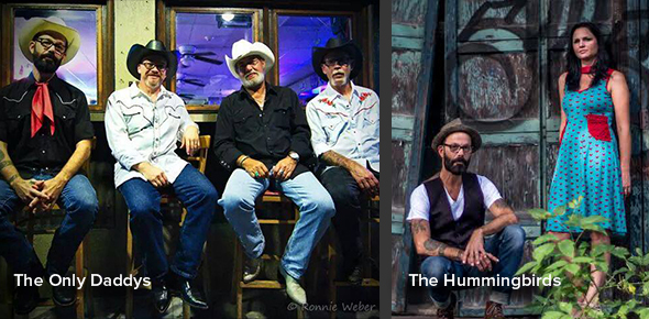 The Only Daddys with The Hummingbirds: Classic Country Meets Americana
