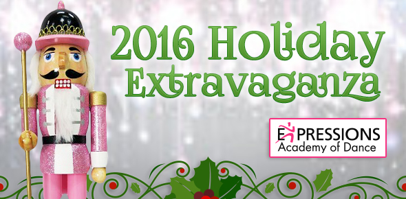 Expressions Academy of Dance: Holiday Extravaganza 2016