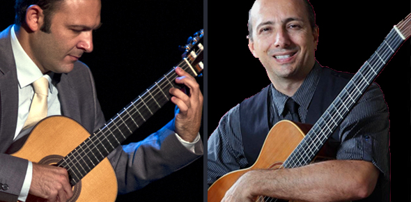 Nate Najar's Bossa Nova Guitars with Phill Fest
