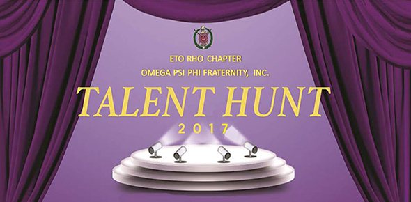Omega Psi Phi Fraternity: Talent Hunt 2017